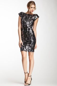 Sequin Boatneck Dress! Also- check out my board Fashion Fever! for cute accessories, hairstyles and much more!