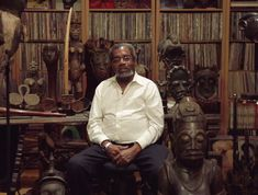 Eric Edwards from Clinton Hill, Brooklyn has $10 Million worth of African art (1600 pieces of that spans all 54 countries on the continent and goes back as far as 4,000 years) in his apartment. He became interested in the arts of Africa and the diaspora as a young child. Edwards' father made sure to teach him about black history and the history of Africa as a way to understand racism. He hopes to open an African art museum called The Cultural Museum of African Art by the summer of 2016.