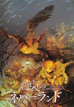 Read Yakusoku no Neverland 53 online. Yakusoku no Neverland 53 English. You could read the latest and hottest Yakusoku no Neverland 53 in MangaHere. Fanarts Anime, Manga Anime, Anime Art, Series Manga, Terra Do Nunca, Manga Covers, Hd Backgrounds, Animes Wallpapers, Neverland