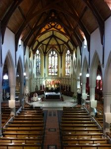 St Peter's RC Church, Cardiff, Wales UK