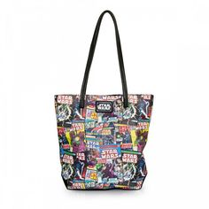 Loungefly Star Wars Color Comic Print Tote Bag