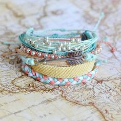 Flat Braided Melted Butter | Pura Vida Bracelets