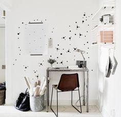 Wanddeko - Konfetti Mini Dots Mix 130er Set Wandsticker Punkt - ein Designerstück von UrbanARTBerlin bei DaWanda