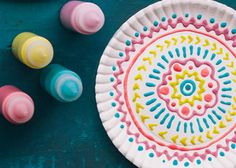 Kids craft: Make your own puffy-paint art in the microwave!