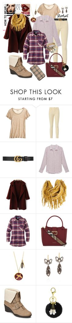 """Cardigan Chic: Bringing Sexy Back 🙈"" by mavinex-de-nova ❤ liked on Polyvore featuring Burberry, Calypso St. Barth, Intermix, Gucci, Josie Maran, Rails, Mountain Khakis, Bonbi Forest, Queensbee and A2 by Aerosoles"