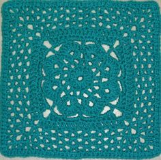 More V's Please Square: free pattern