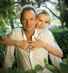 Sting and Trudie Styler's Tuscan Paradise : Celebrity Style :