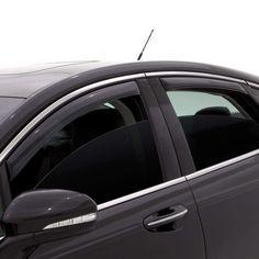 Auto Ventshade 194265 in-Channel Ventvisor Side Window Deflector 4-Piece Set for 2016-2018 Mazda CX-3
