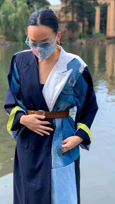 Sari Blouse Designs, Blouse Styles, Diy Blouse, Crop Blouse, Saree Styles, Slides Outfit, Diy Fashion, Fashion Outfits, Fashion Design