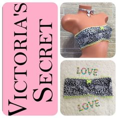 Victoria Secret Green Ruffle Bandeau Bra Nwt. XS, will fit a size S. Lime green and leopard print Bandeau Bra. Exclusive ANIMALS •{May not get every single hair off item}• Smoke Free Home No lowball offers  {Example: $30, but you offer $15} Drama / Rude Free  No More Holds Don't ask me to use Mercari Prices are Firm {Posh Takes 20%} ❓Any Questions, Please ask me Thank You For Shopping my closet Victoria's Secret Intimates & Sleepwear Bandeaus