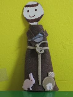 St. Francis of Assisi craft (Our Patron Saint this school year!)