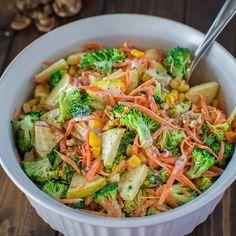 Fresh and Crunchy Broccoli Salad