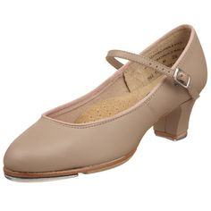 $59.55-$68.95 Capezio Women's Tap Jr. Footlight Tap Shoe,Tan,9 M US - Upper constructed of soft, supple, quality leatherbr Lined with moisture-absorbing, brushed microfiberbr Padded insole with arch cookie supportbr Scored leather sole with scored rubber sole patchbr Non-slip heel counterbr 1.5 Fully covered heelbr TeleTone toe tap and DuoTone heel tap br http://www.amazon.com/dp/B002CO3RXO/?tag=icypnt-20