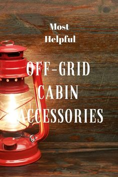 """These are the most helpful off-grid cabin accessory ideas for your """"in the woods"""" oasis. Mountain Cabin Decor, Hunting Cabin Decor, Rustic Cabin Decor, Rustic Cabins, Mountain Cabins, Rustic Wood, Off Grid House, Off Grid Cabin, Kabine"""
