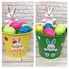 Personalized Easter Bucket / Basket- Bunny