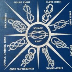 vintage camp knots poster - Google Search