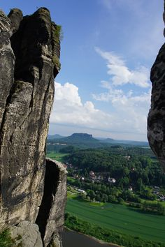 @Bastei \ Sächsische Schweiz in Germany.