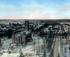 Vaasan keskustassa oli näin väljän näköistä 1920-luvulla.
