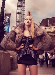 Sweet Seventeen Urban Fashion Photography By Akif Hakan Fur Fashion, Fashion Models, Fashion Beauty, Winter Fashion, Fashion Dresses, Womens Fashion, Cheap Designer Clothes, Urban Fashion Photography, Editorial Photography