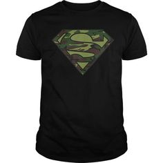 Superman Camo Logo T Shirts, Hoodies, Sweatshirts. CHECK PRICE ==► https://www.sunfrog.com/Geek-Tech/Superman-Camo-Logo-.html?41382
