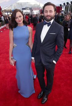 Alexis Bledel made a rare appearance on the red carpet with her husband, Mad Men star Vincent Kartheiser, following her Gilmore Girls revival news