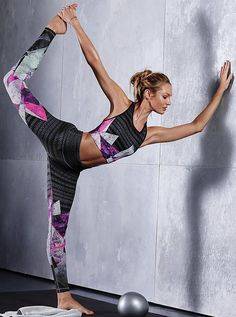 "candices-swanepoel: "" New Victoria's Secret Sport – Fall 2015 """
