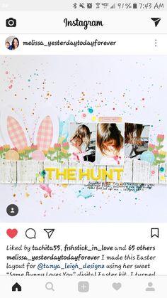 Easter egg hunt layout