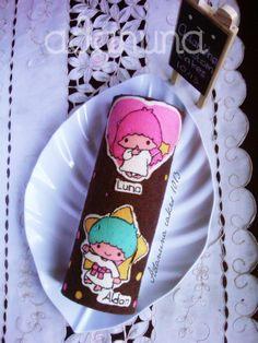 Little twin stars Kiki n Lala Deco Roll Cake