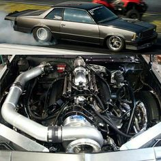 Scott Smith  1980 Chevy Malibu  509 cu.in. big block Chevy With  F3 Procharger