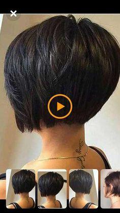 Short Hair Back, Short Hair With Layers, Short Hair Cuts For Women, Short Hair Styles, Pixie Hairstyles For Thick Hair Undercut, Bob Haircut For Fine Hair, Short Bob Hairstyles, Gray Hair Highlights, Best Short Haircuts