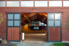 Stable Style: Indoor Riding Arena   Horses & Heels