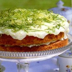Coconut Lime Cake - Cakes for tea! - Recipes - from Delia Online