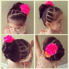 """""""Recreation of one of my styles....this is so super cute had to repost! Cr: @lindsaynicole929 Check out her account she does amazing nail art!♡ #repost #littlegirlhairstyles #braidsforlittlegirls #funhairstylesforgirls #braids #nailart #beautifulnails"""" Photo taken by @luv_that_hair on Instagram, pinned via the InstaPin iOS App! http://www.instapinapp.com (07/27/2015)"""