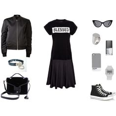 """Color Block"" by black-blessed on Polyvore"