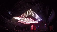 Kinetic ChandelierTheatre installation by Russian creative...