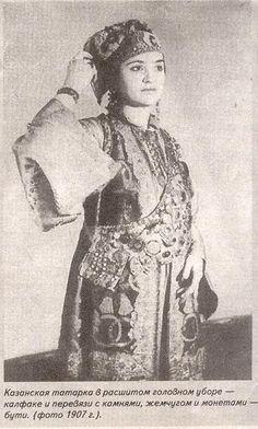 казанская татарка в калфаке