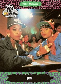 (1991) Yo! MTV Raps Trading Cards
