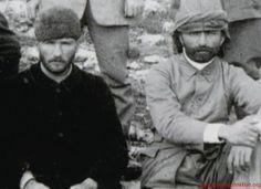 Mustafa Kemal Pasha with Enver Pasha