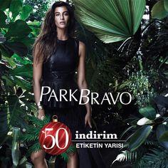 Şıklığınızı tamamlayacak birbirinden farklı seçenekler etiketin yarısı fırsatıyla #Espark Park Bravo'da.