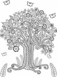Adult Coloring (Doodles) on Behance Free Adult Coloring, Dog Coloring Page, Coloring Book Art, Doodle Coloring, Coloring Pages To Print, Mandala Coloring, Colouring Pages, Coloring Pages For Kids, Thé Illustration