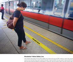 Wonderbra: Safety line | Ads of the World™