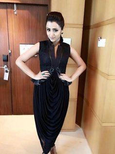 Actress Trisha Krishnan in Designer Jyoti Sachdev Iyer for Shop CJ's Tamil…