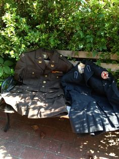 My parents' uniforms - Army and Red Cross World War II