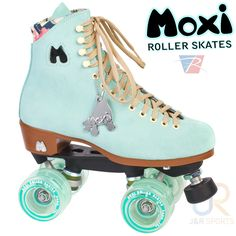 Moxi Roller Skates is a brand of quad-roller skates created by Los Angeles roller derby player, Estro Jen (derby name), Michelle Steilen.While roller derby captured all of the aggressive-typed women, Estro's mission was to harness the acceptance of all women with a desire to be on wheels and look cute while exercising! And that is when Moxi Roller Skates (the brand) was created.  Not only will these skates make you stand out from the crowd, but they are incredibly well made and s...