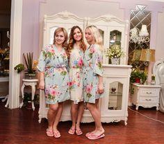 bridesmaid robe kimono robe personalized bridesmaids by ForBride