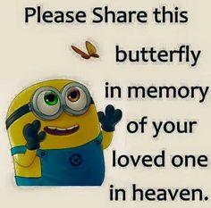 Heavenly butterfly memories