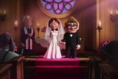 Up, Ellie. Our favourite Disney wedding dresses #weddingdress #Disney