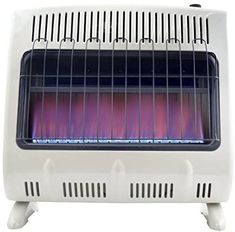 Mr. Heater 30,000 BTU Vent Free Blue Flame Natural Gas Heater MHVFB30NGT Gas Garage Heater, Natural Gas Wall Heater, Portable Propane Heater, Home Thermostat, Gas Bill, Canister Vacuum, Blue Flames, Carpet Cleaners, Rv Living