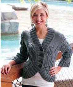 Knitting+Ideas | Bingo Jacket: knit pattern (intermediate) - free | Knitting