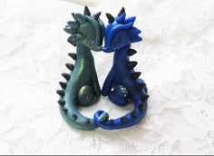 Love clay dragons